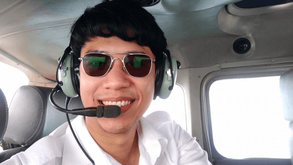 บทสัมภาษณ์การเป็นนักบิน