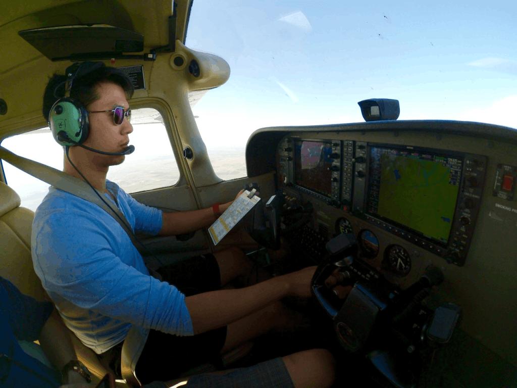 จัดเริ่มต้นการเป็นนักบิน